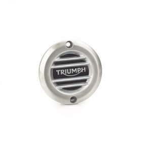 Brushed Clutch Badge – Ribbed