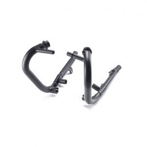 Black Ceramic Exhaust Headers, Pair (A9600650)