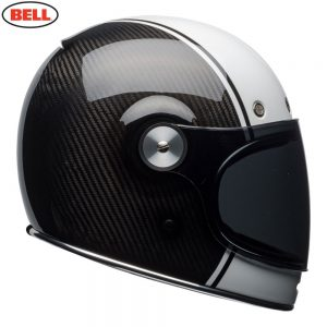 Bell Cruiser 2018 Bullitt Carbon Adult Helmet (Carbon Pierce Black/White)