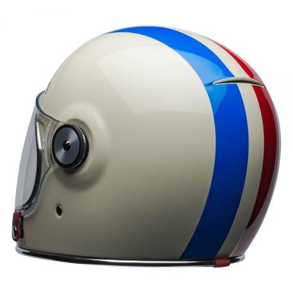 1548940525-31627600.jpg-Bell Cruiser 2019 Bullitt DLX Adult Helmet (Command Vintage White/Red/Blue)