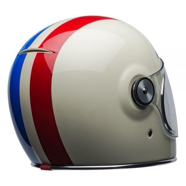 1548940527-66694100.jpg-Bell Cruiser 2019 Bullitt DLX Adult Helmet (Command Vintage White/Red/Blue)