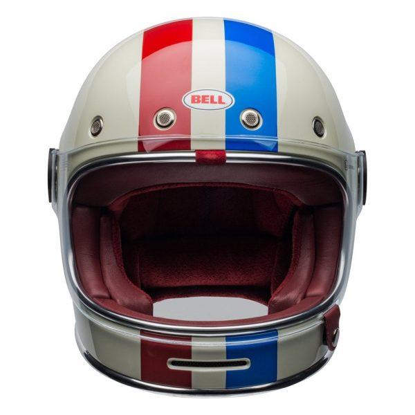 1548940532-48775700.jpg-Bell Cruiser 2019 Bullitt DLX Adult Helmet (Command Vintage White/Red/Blue)