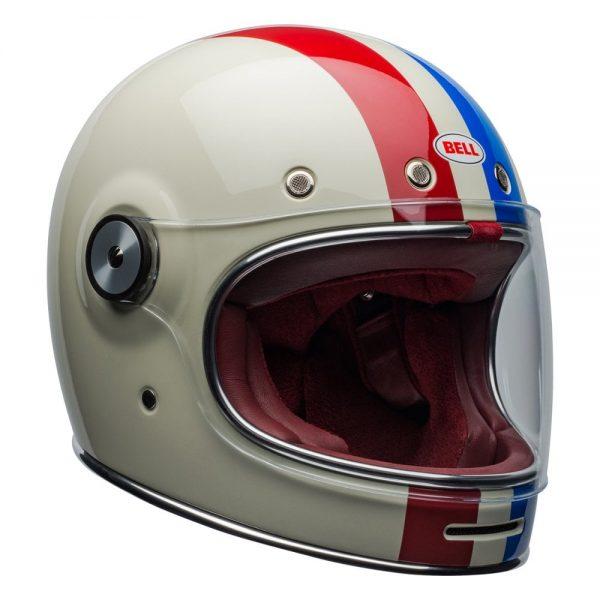 1548940537-10481000.jpg-Bell Cruiser 2019 Bullitt DLX Adult Helmet (Command Vintage White/Red/Blue)
