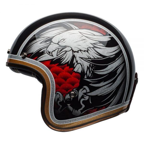 1548940582-96828900.jpg-Bell Cruiser 2019 Custom 500 Carbon Adult Helmet (Osprey Black/Yellow)