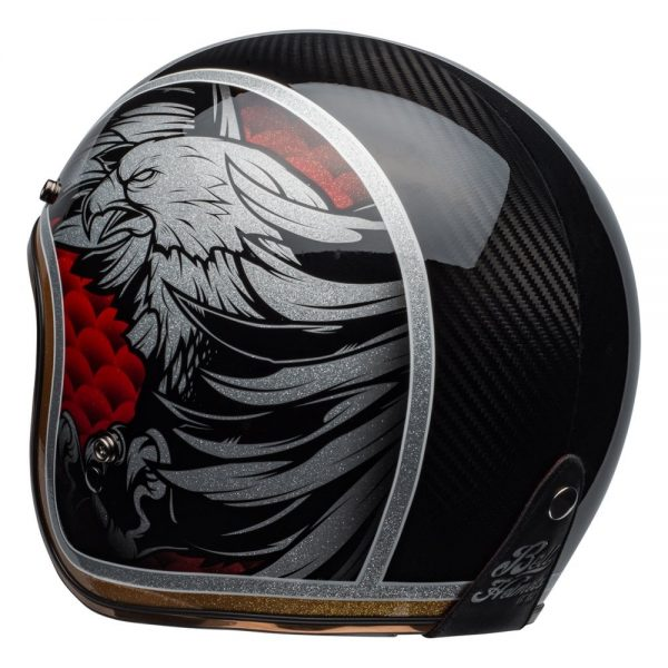 1548940588-10164600.jpg-Bell Cruiser 2019 Custom 500 Carbon Adult Helmet (Osprey Black/Yellow)