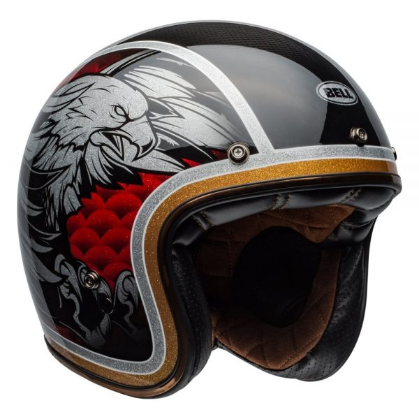 1548940590-95570500.jpg-Bell Cruiser 2019 Custom 500 Carbon Adult Helmet (Osprey Black/Yellow)