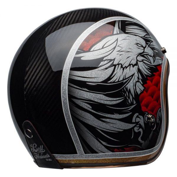 1548940596-55959000.jpg-Bell Cruiser 2019 Custom 500 Carbon Adult Helmet (Osprey Black/Yellow)