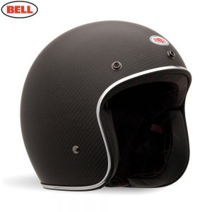 Bell Cruiser 2018 Custom 500 Carbon Adult Helmet (Carbon Matte)
