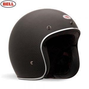 Bell Cruiser 2018 Custom 500 Carbon Adult Helmet (Carbon Matte)
