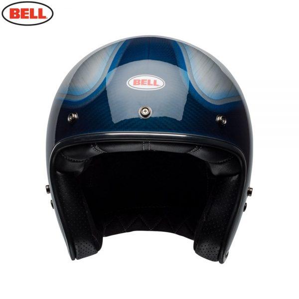 1548940605-72431800.jpg-Bell Cruiser 2018 Custom 500 Carbon Adult Helmet (Jager Candy Blue)