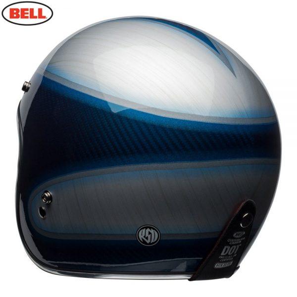 1548940611-85964900.jpg-Bell Cruiser 2018 Custom 500 Carbon Adult Helmet (Jager Candy Blue)