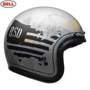 Bell Cruiser 2018 Custom 500 SE Adult Helmet (RSD 74 Black/Silver)