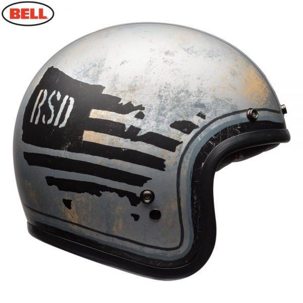 1548940618-09604200.jpg-Bell Cruiser 2018 Custom 500 SE Adult Helmet (RSD 74 Black/Silver)