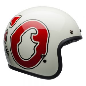 Bell Cruiser 2019 Custom 500 SE Adult Helmet (RSD WFO White/Red)