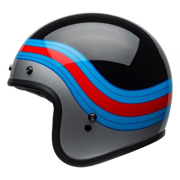 1548940661-87670800.jpg-Bell Cruiser 2019 Custom 500 DLX Adult Helmet (Pulse Black/Blue/Red)