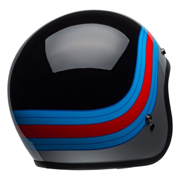 1548940665-78358100.jpg-Bell Cruiser 2019 Custom 500 DLX Adult Helmet (Pulse Black/Blue/Red)
