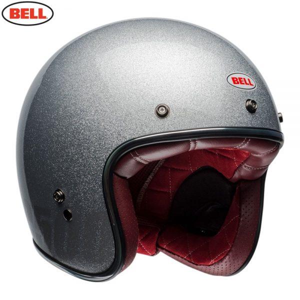 1548940676-13764200.jpg-Bell Cruiser 2018 Custom 500 Adult Helmet (Flake Silver)