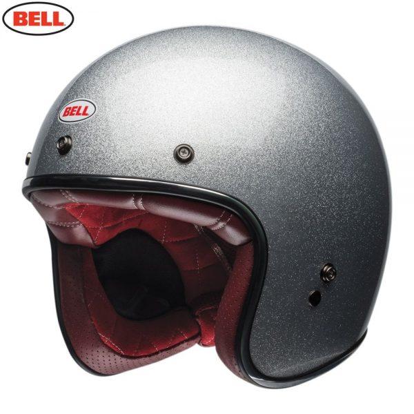 1548940680-20806100.jpg-Bell Cruiser 2018 Custom 500 Adult Helmet (Flake Silver)