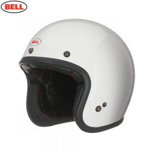 Bell Cruiser 2017 Custom 500 Adult Helmet (Solid Vintage White)