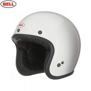 Bell Cruiser 2017 Custom 500 Adult Helmet (Solid Vintage White)
