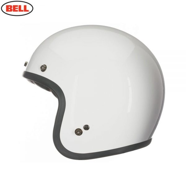 1548940708-27217700.jpg-Bell Cruiser 2017 Custom 500 Adult Helmet (Solid Vintage White)