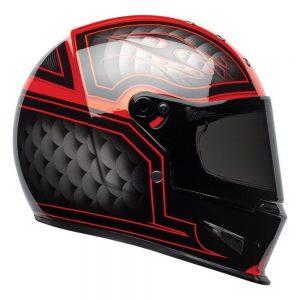 Bell Cruiser 2019 Eliminator Adult Helmet (Outlaw Black/Red)