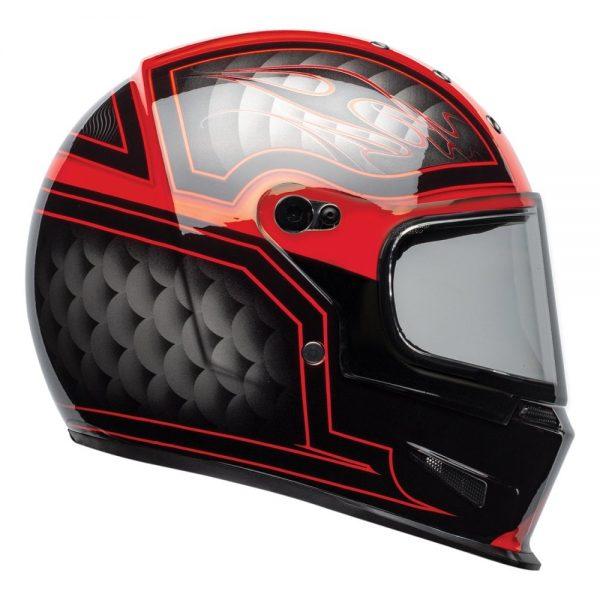 1548940722-33697300.jpg-Bell Cruiser 2019 Eliminator Adult Helmet (Outlaw Black/Red)