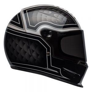 Bell Cruiser 2019 Eliminator Adult Helmet (Outlaw Black/White)