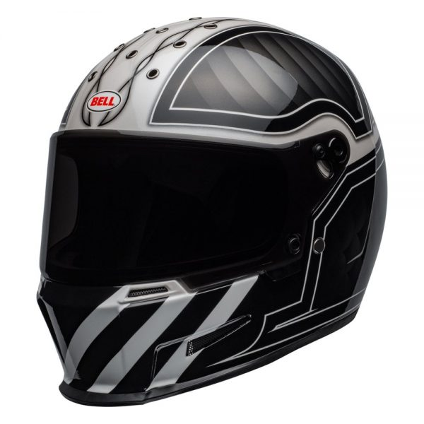 1548940729-45529000.jpg-Bell Cruiser 2019 Eliminator Adult Helmet (Outlaw Black/White)