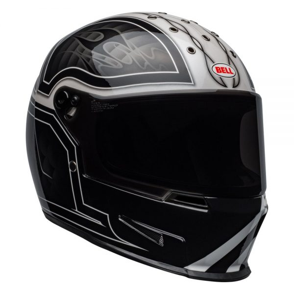 1548940731-51477300.jpg-Bell Cruiser 2019 Eliminator Adult Helmet (Outlaw Black/White)