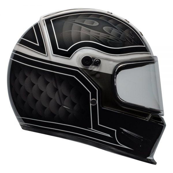 1548940736-39528100.jpg-Bell Cruiser 2019 Eliminator Adult Helmet (Outlaw Black/White)