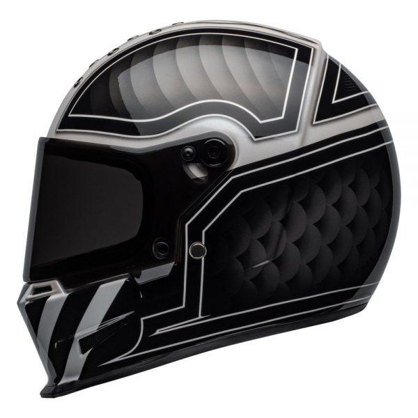 1548940740-95505400.jpg-Bell Cruiser 2019 Eliminator Adult Helmet (Outlaw Black/White)