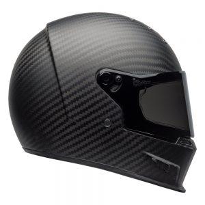 Bell Cruiser 2019 Eliminator Carbon Adult Helmet (Solid Matte Black)
