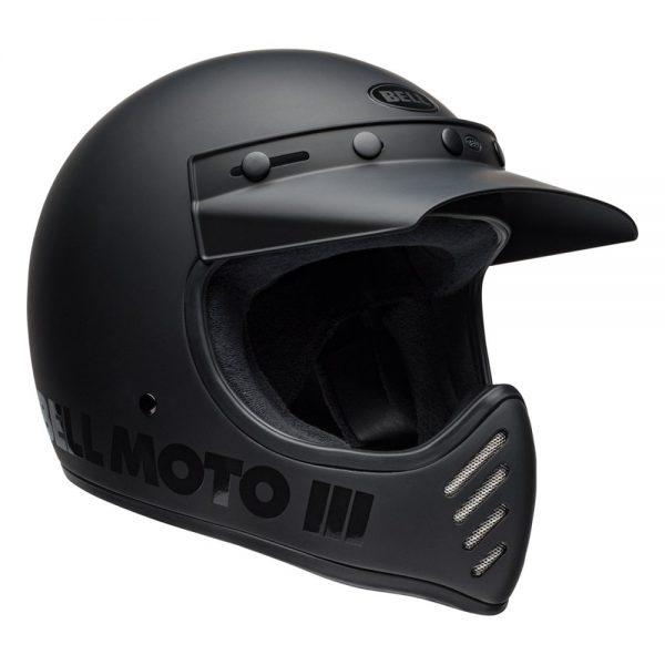 1548940850-34010000.jpg-Bell Cruiser 2019 Moto 3 Adult Helmet (Blackout Matte/Gloss Black)