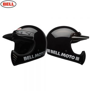 Bell Cruiser 2018 Moto 3 Adult Helmet (Classic Black)
