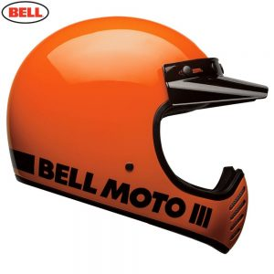 Bell Cruiser 2018 Moto 3 Adult Helmet (Classic Flo Orange)