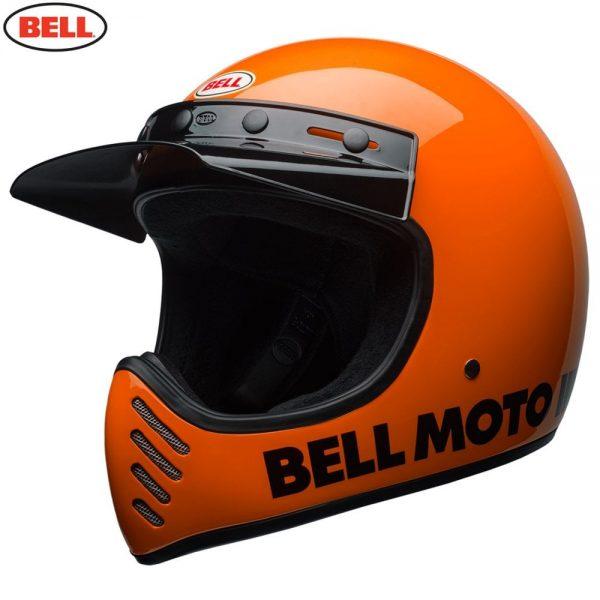 1548940863-14126600.jpg-Bell Cruiser 2018 Moto 3 Adult Helmet (Classic Flo Orange)