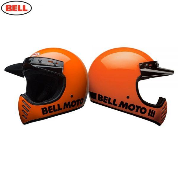 1548940865-02548500.jpg-Bell Cruiser 2018 Moto 3 Adult Helmet (Classic Flo Orange)