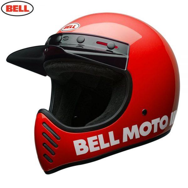 1548940870-34839200.jpg-Bell Cruiser 2018 Moto 3 Adult Helmet (Classic Red)