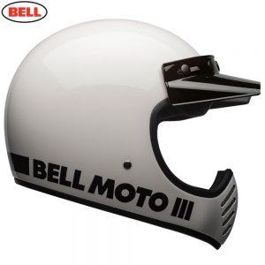 Bell Cruiser 2018 Moto 3 Adult Helmet (Classic White)