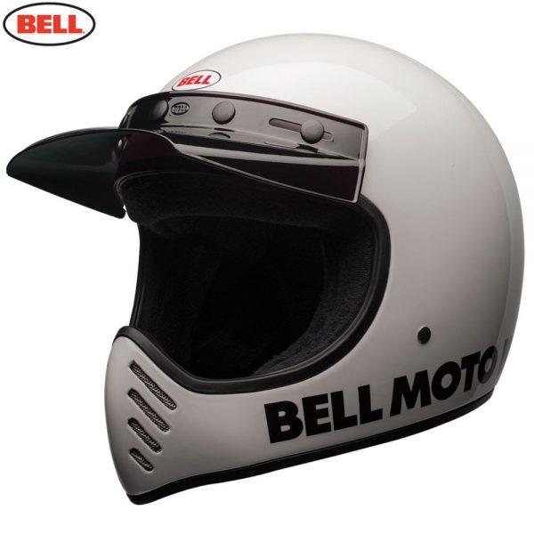 1548940875-93113600.jpg-Bell Cruiser 2018 Moto 3 Adult Helmet (Classic White)