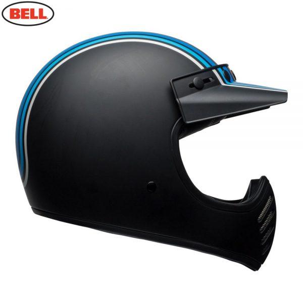 1548940881-30887300.jpg-Bell Cruiser 2018 Moto 3 Adult Helmet (Stripes Silver/Black/Blue)