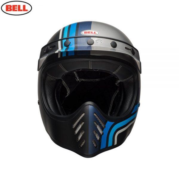 1548940884-94546500.jpg-Bell Cruiser 2018 Moto 3 Adult Helmet (Stripes Silver/Black/Blue)