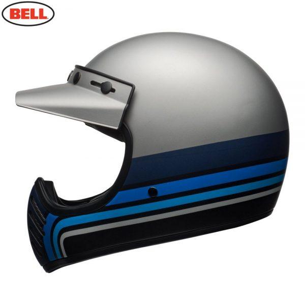 1548940887-97297300.jpg-Bell Cruiser 2018 Moto 3 Adult Helmet (Stripes Silver/Black/Blue)