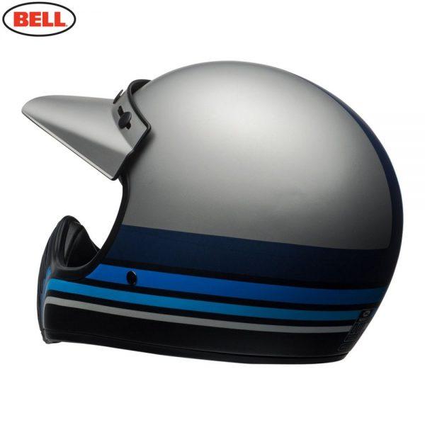 1548940889-47811100.jpg-Bell Cruiser 2018 Moto 3 Adult Helmet (Stripes Silver/Black/Blue)