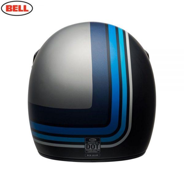 1548940890-96916200.jpg-Bell Cruiser 2018 Moto 3 Adult Helmet (Stripes Silver/Black/Blue)