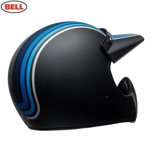 1548940892-67170400.jpg-Bell Cruiser 2018 Moto 3 Adult Helmet (Stripes Silver/Black/Blue)