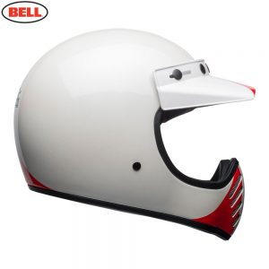 Bell Cruiser 2018.1 Moto 3 Adult Helmet (Ace Cafe GP 66 White/Blue/Red)