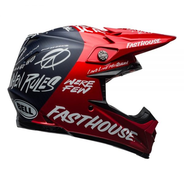 1548940911-41409000.jpg-Bell MX 2019 Moto-9 Flex Adult Helmet (Fasthouse Day In The Dirt Red/Navy)