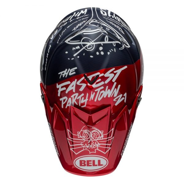 1548940915-18634900.jpg-Bell MX 2019 Moto-9 Flex Adult Helmet (Fasthouse Day In The Dirt Red/Navy)